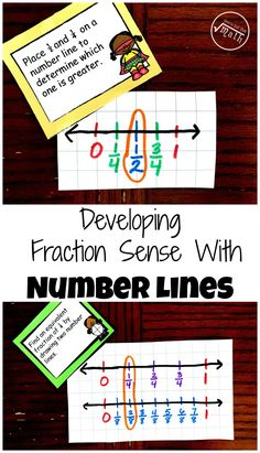 Teaching fractions on a number line? Grab this free printable that challenges students draw number lines to help them Develop Fraction Sense Using Number Lines. 3rd Grade Fractions, Teaching Fractions, 3rd Grade Math, Teaching Math, Multiplying Fractions, Third Grade, Teaching Ideas, Fourth Grade, Teaching Computers