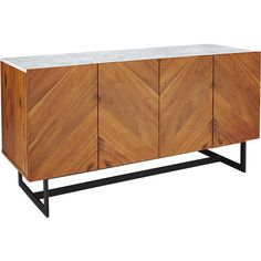 suspend media console-cb2.com nice texture with stone and wood, light legs. Too tall for under window? 76 inches. Could push to right