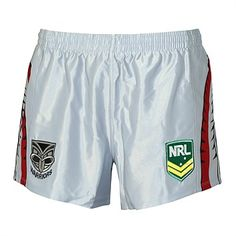 7c769d75961 Rebel Sport - ISC Mens NRL New Zealand Warriors Away Supporter Short