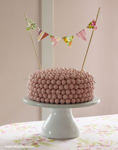 Strawberry Malt Ball Cake!  This cake looks and sounds fantastic! I LOVE malt! (Regular Chocolate Milkshake)