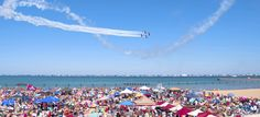 Once again, scores of people will line the city's lakefront for two days for the Chicago Air & Water Show. The 57th annual free event taking place Aug. 15th and 16th mainly over North Avenue Beach will feature the debut of France's Breitling Jet Team, a seven-plane civilian-based aerobatic team.