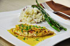 Chicken Scallopine with Saffron Cream Sauce by Courtney | Cook Like a Champion, via Flickr