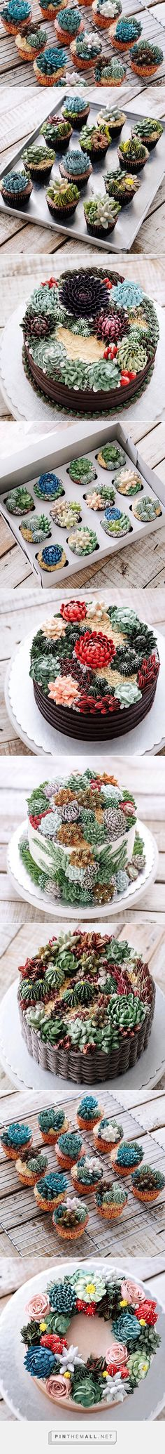 Succulent Cakes By Ivenoven Will Make Every Succulent Lover's Mouth Water | Bored Panda - created on 2017-04-02 21:09:14