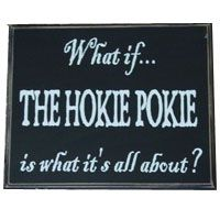 Hokie Pokie- I need to make this sign for my classroom! :)