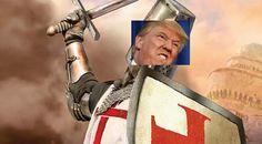 Donald Trump e Umberto Bossi: crociati alla riscossa...