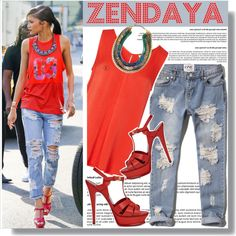 How To Wear Zendaya in Yves Saint Laurent sandals Outfit Idea 2017 - Fashion Trends Ready To Wear For Plus Size, Curvy Women Over 20, 30, 40, 50