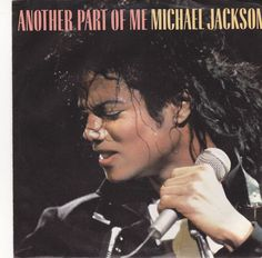 """Michael Jackson / Another Part Of Me / 7"""" Vinyl 45 RPM Jukebox Record & Picture Sleeve / Epic 07962 #Pop #Music"""