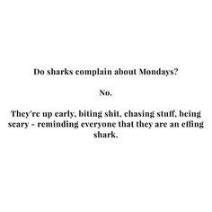😂😂😂 be a shark! RG @damselindior