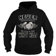 Cool #TeeForWindy Hills Windy Hills  Never… - Windy Hills Awesome Shirt - (*_*)