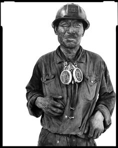 The Miners ~ Richard Avedon Sometimes I think all my pictures are just pictures of me. My concern is . . . the human predicament; only what I consider the human predicament may simply be my own.