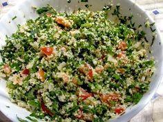 Tabbouleh - Parsley and Bulgur salad