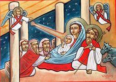 Coptic Orthodox Icon of the Nativity