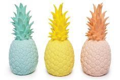 Piña Colada Lamp designed by Eva Newton Pineapple Lights, Pineapple Lamp, Collages, Sico, Bloom Baby, Tropical, Candy Colors, Lamp Light, Color Splash