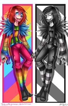 Were rainbows go to DIE.                                           -LJ