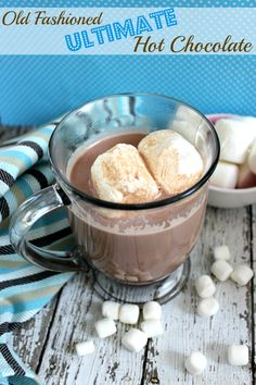 Old Fashioned Ultimate Hot Chocolate