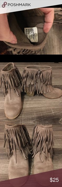 Not Rated Booties Not Rated Booties- Size 7. Good condition and a must have for Fall. There are a few spots on the back of the boot that show signs of wear- please see pictures. Comes from a smoke free home. Not Rated Shoes Ankle Boots & Booties
