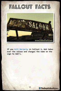 The Ultimate Collection of Fallout Facts - Imgur
