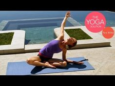 Yoga for Holiday Meal Digestion | The Yoga Solution With Tara Stiles - YouTube