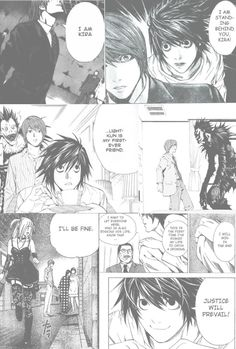 death note manga wallpaper (credit: @britishatheart9 on pinterest)