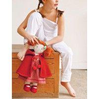 Doll in Red   Martha Pullen