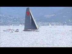 Wild Oats XI sailing in the King of the Derwent after the Sydney to Hobart yacht race.