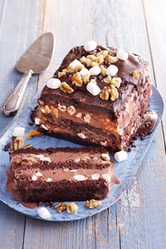 rocky road ice cream cake recipe (mix)