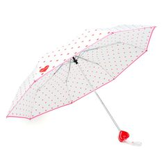 rain or shine umbrella - supercute hearts