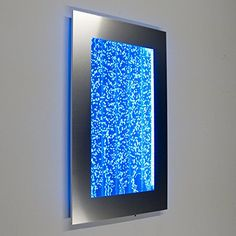 Wall-Mount-Hanging-Bubble-Wall-Aquarium-30-LED-Lighting-Indoor-Panel-300WM-Water-Fall-Fountain-Water-Feature-0