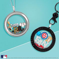 Baseball fans, show your support! http://CharmingLocketsByAline.OrigamiOwl.com/