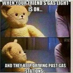 TOTALLY - your eyes keep glancing over at the dashboard wondering when......