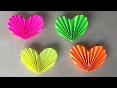 Как сделать сердце из бумаги: Сердечко оригами. ❤ Подарок для мамы ко Дню матери - YouTube