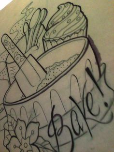 baking tattoo