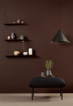 The Forest Annular Pendant Large Black is a special hanging lamp made of black powder coated aluminum. In this Annular hanging lamp the lighting is Modern Home Furniture, Decor, Solid Oak, Light, Floating Wall, Shelves, Small Hallways, Minimalist Home, Home Decor