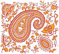 (319) Gallery.ru / Фото #33 - Indian Textile Prints - domy