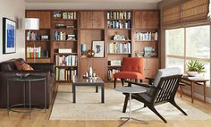 Woodwind Bookcases with Doors - Bookcases & Shelves - Living - Room & Board