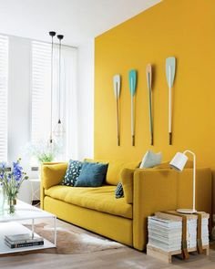 Millennial Pink has enjoyed its (fairly long) time in the spotlight, but the time has come for a new colour to make its appearance. Younger and more vibrant, Gen Z Yellow is popping up in homes and catwalks around the world, which indicates that were definitely going to be seeing more of this vibrant, sunny colour.