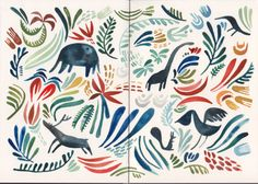 felicita sala illustration: sketchbook. I love this - it should be a bedspread