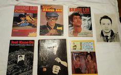 Lot of 7 Bruce Lee Jeet Kune Do Martial Art Combats The Boss Book Magazine Photo