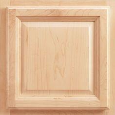 American Woodmark 13x12-7/8 in. Portland Maple Cabinet Door Sample in Natural