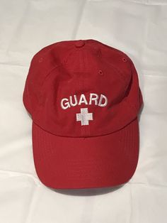 d016eb43b02 Lifeguard Hat -Red  fashion  clothing  shoes  accessories  mensaccessories   hats