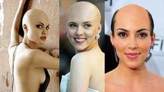 Många män som tappar hår bestämmer sig ofta för att raka bort allt nuförtiden. Det är ju inte speciellt konstigt att en man är skallig, men tänk om en kvinna är det. Här är en samling kändisar och ...