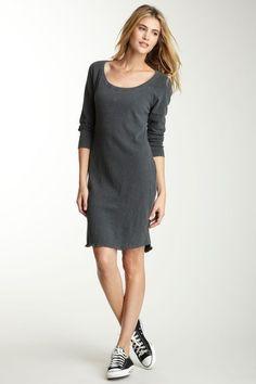 James Perse Surplus Sweatshirt Dress. Looks almost as comfy as my yoga pants!
