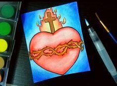 Para  las Semana mayo El corazon de Jesus en Semana Santa