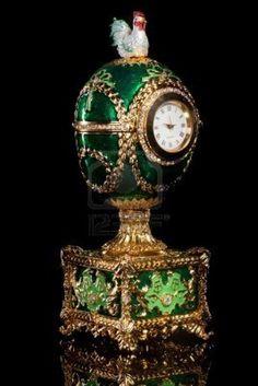 FAberge egg - unique clock