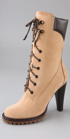 high heeled hiking boots - Google Search
