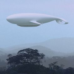 Crazy transport solutions: flying whale-shaped hotel