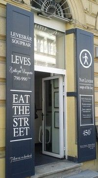 The popular soupbar in Budapest!