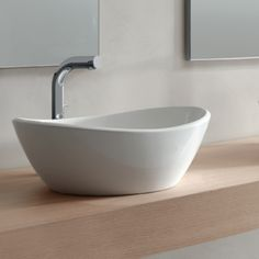 amalfi basin by victoria  albert at justbathroomware beautiful lines