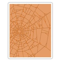 Sizzix - Tim Holtz - Alterations Collection - Halloween - Texture Fades - Embossing Folder - Cobwebs