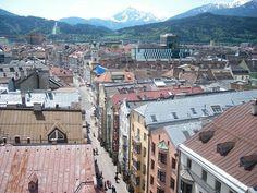 Stadtturm - Vista de Innsbruck (2)